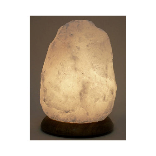 Himalayan Salt Lamp White 8 in