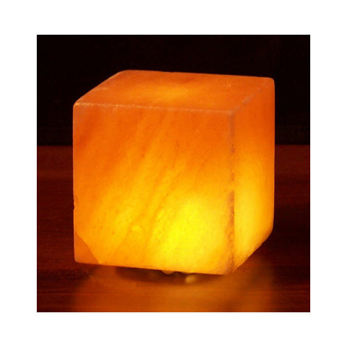 Himalayan Salt Cube Salt Lamp USB 3 in