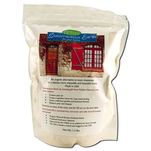 Lumino Home Diatomaceous Earth Food Grade Home (1x1.5 Lb)