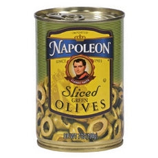 Napoleon Sliced Green Olives (12x7Oz)