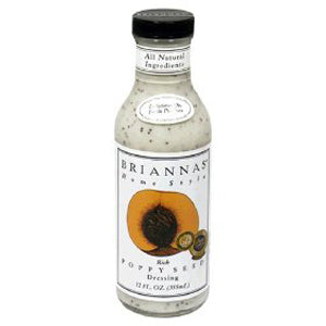 Brianna's Home Style Salad DressingRich Poppy Seed (6x12Oz)