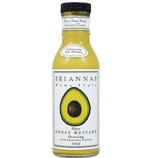 Brianna's Home Style Salad DressingHoney Mustard Dijon (6x12Oz)