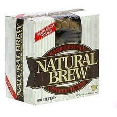 Natural Brew Coffee Filters (12x100CNT )