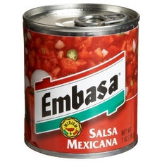 Embasa Salsa MexicanaRed Medium (12x7Oz)