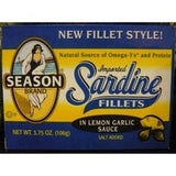 Season's Fillets Lemon Garlic Sauce (12x3.75 Oz)