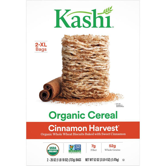 Kashi Organic Cereal -- Organic Cinnamon Harvest - Earth's Basket