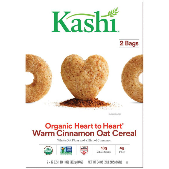 Kashi Organic Cereal -- Warm Cinnamon Organic Cereal - Earth's Basket