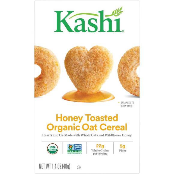 Kashi Organic Cereal -- Honey Toasted Organic Oat Cereal - Earth's Basket