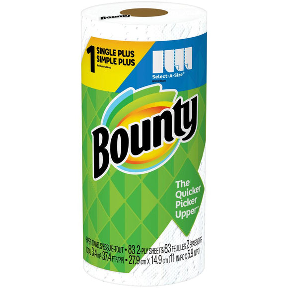 Bounty Paper Towels - 1 Pk - Earth's Basket