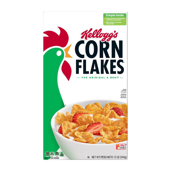 Kellog's Cereal -- Corn Flakes - Earth's Basket