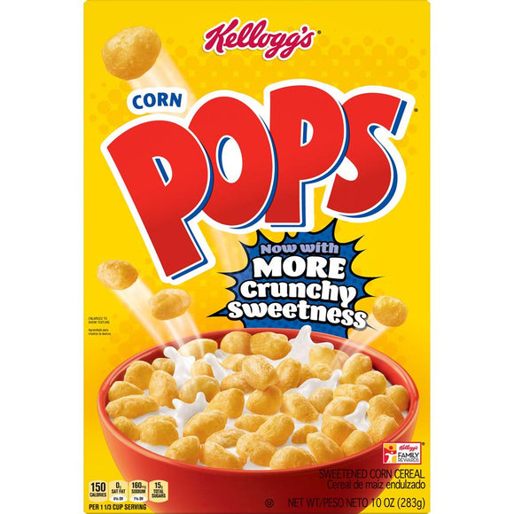 Kellog's Cereal -- Corn Pops - Earth's Basket