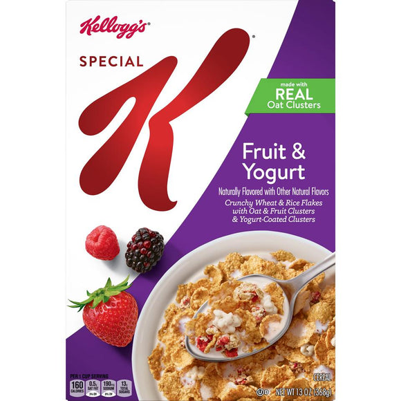 Kellog's Cereal -- Fruit Yogurt - Earth's Basket