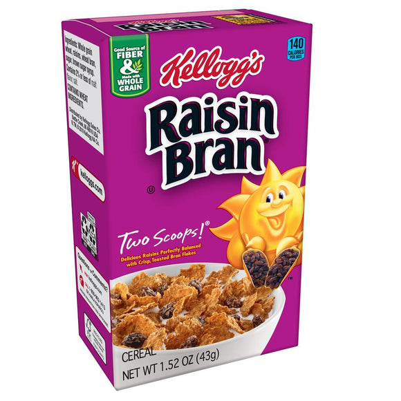 Kellog's Cereal -- Raisin Bran - Earth's Basket