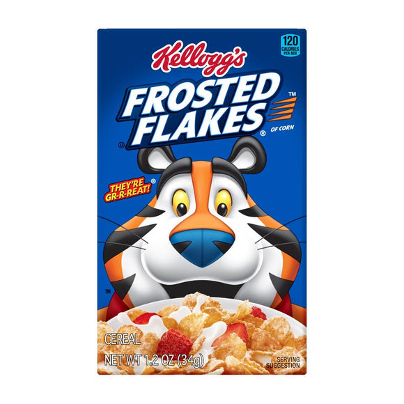 Kellog's Cereal -- Frosted Flakes - Earth's Basket