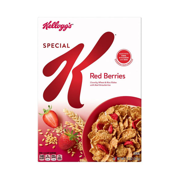 Kellog's Cereal -- Special K Red Berries - Earth's Basket