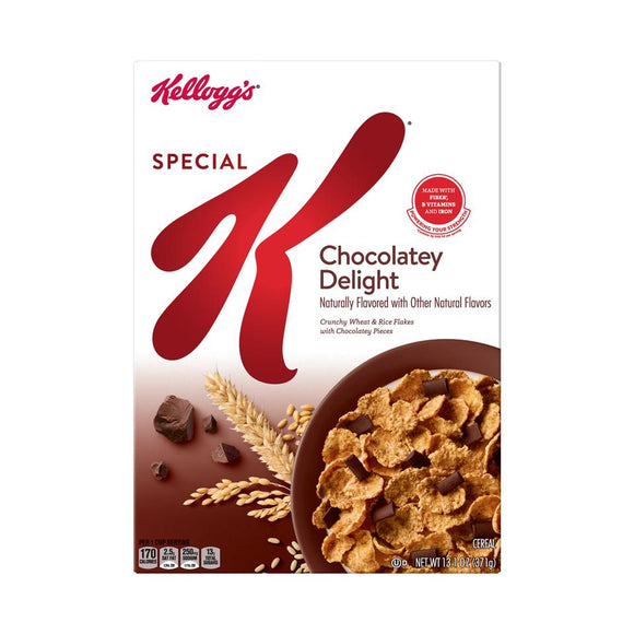 Kellog's Cereal -- Special K Chocolatay Delight - Earth's Basket