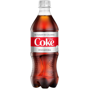 Coca Cola Diet-- 20 Oz Bottle - Earth's Basket