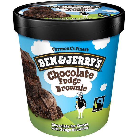 Ben & Jerry's Pint -- Chocolate Fudge Brownie - Earth's Basket