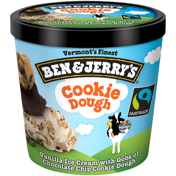 Ben & Jerry's Pint -- Chocolate Chip Cookie Dough - Earth's Basket