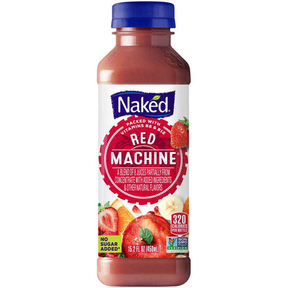 Naked Juice Red Machine 15.2oz Bottle - Earth's Basket