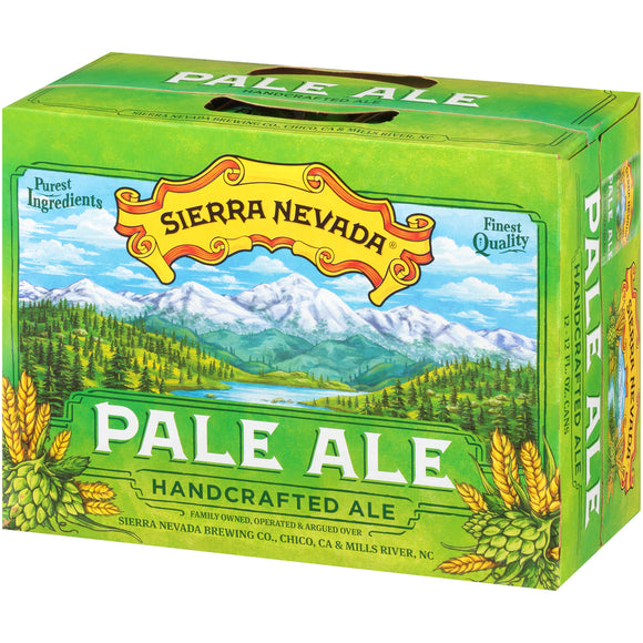 Sierra Nevada Pale Ale 12-12 fl. oz. Cans