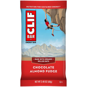 Cliff Bar 2.4 Oz -- 6 Pack -- Chocolate Almond Fudge - Earth's Basket