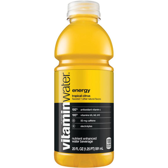Vitamin Water Energy 20oz Bottle - Earth's Basket