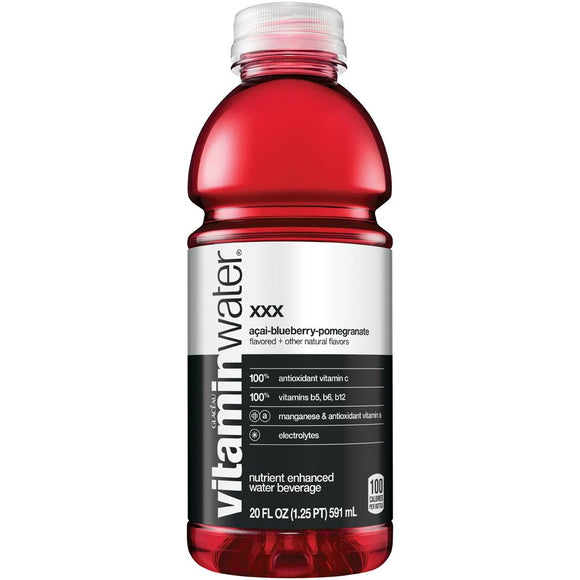 Vitamin Water XXX 20oz Bottle - Earth's Basket