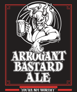 Stone Arrogant Bastard 19.2 Oz Can