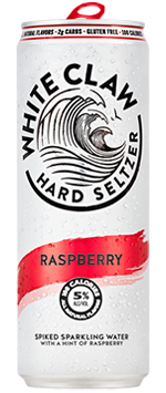 White Claw Raspberry Hard Seltzer - Earth's Basket