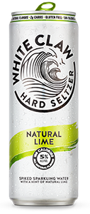 White Claw Ruby Lime Hard Seltzer - Earth's Basket