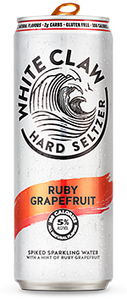 White Claw Ruby Grapefruit Hard Seltzer - Earth's Basket