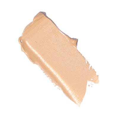 swatch of elate cosmetics uplift full tint foundation in UN3