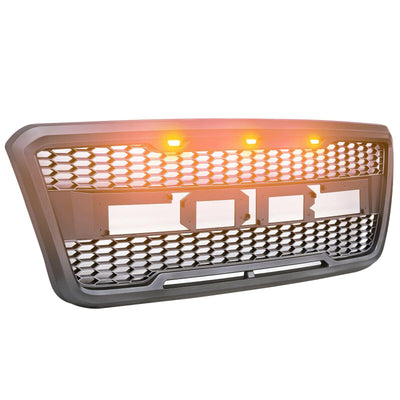 Raptor Style Conversion Front Grille With LED - OccasionPrints
