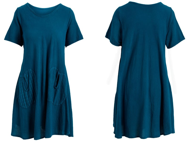 Double Apple (Blue) Women Dress