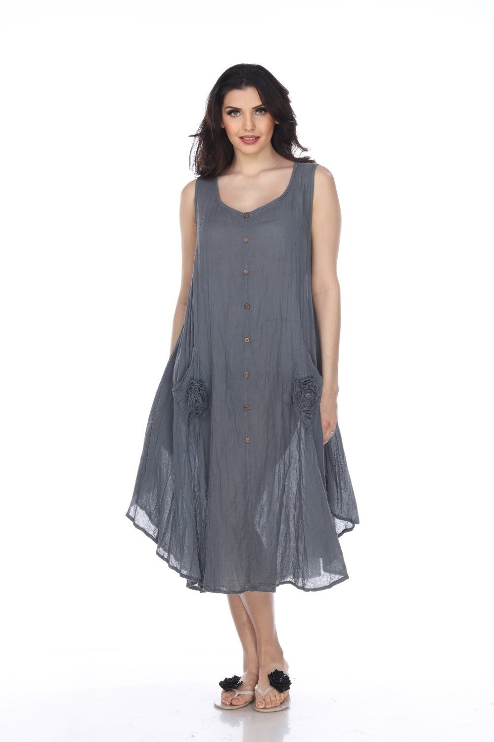 Napa (Grey) Women Dress
