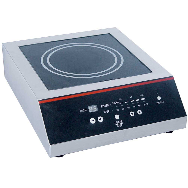 IC-2500 Commercial Countertop Induction Cooker - 2500W