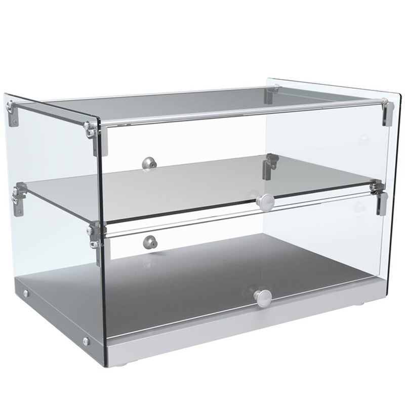 "SA50 22"" Straight Glass Countertop Dry Display Case"