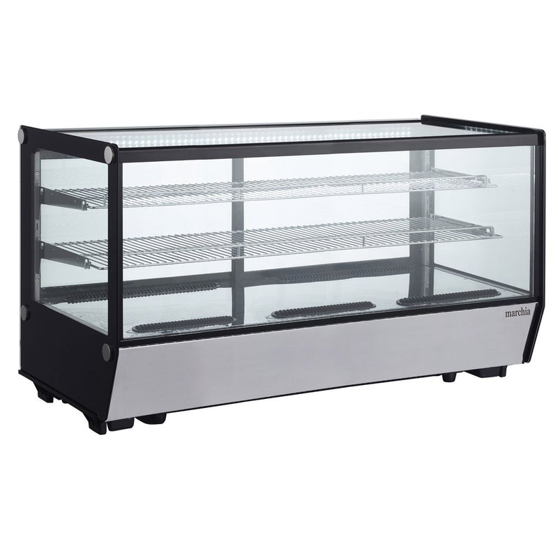 "MDC260-ST 48"" Refrigerated Straight Glass Countertop Display Case"