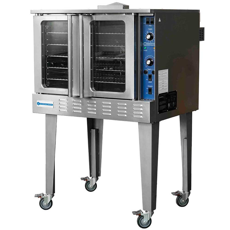 SR-COE-208 Single Deck Full Size Electric Convection Oven - 208V, 3PH