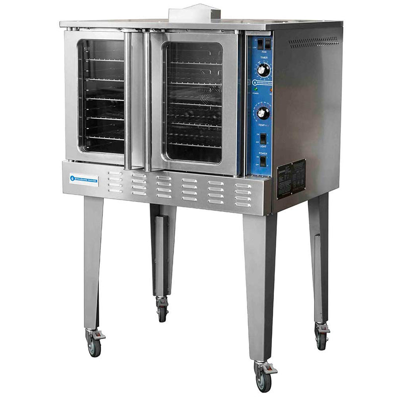 SR-COG Single Deck Full Size Gas Convection Oven - 54,000 BTU