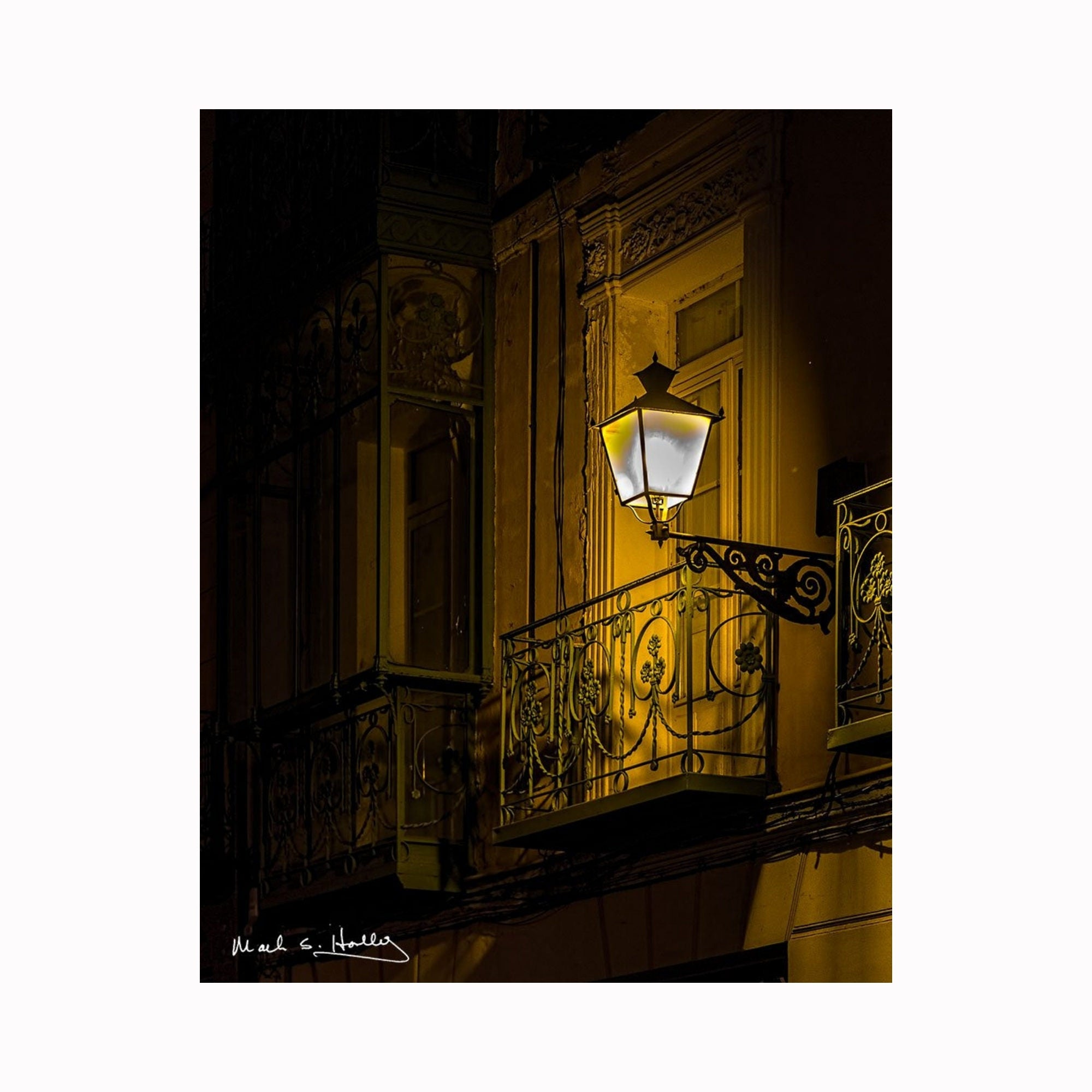 """Segovian Nights"" by Texas artist photographer Mark Holly 