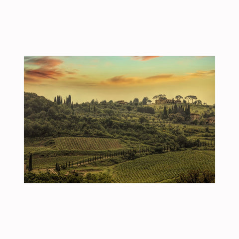 """Classical Tuscan Hillside"" by Texas photographer Mark Holly 