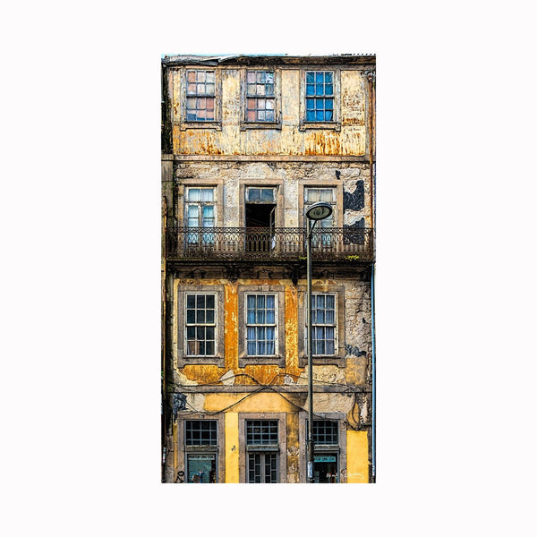 """Old Porto Apartments"" by Texas photographer Mark Holly 