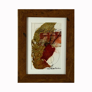 """Life"" is a mixed media abstract painting by Texas artist Sharon Whisnand 