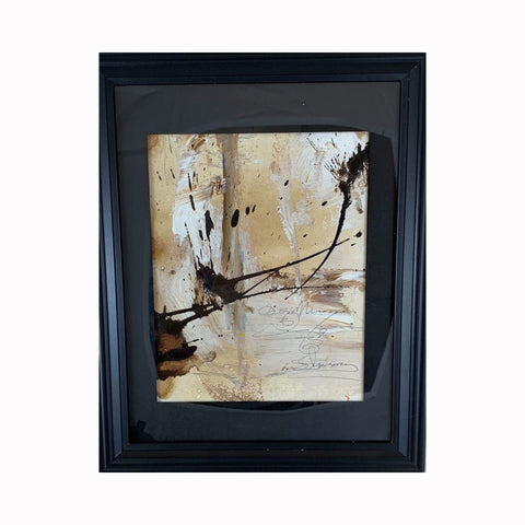 """Rearranged"" is an acrylic painting by Texas artist Sharon Whisnand 