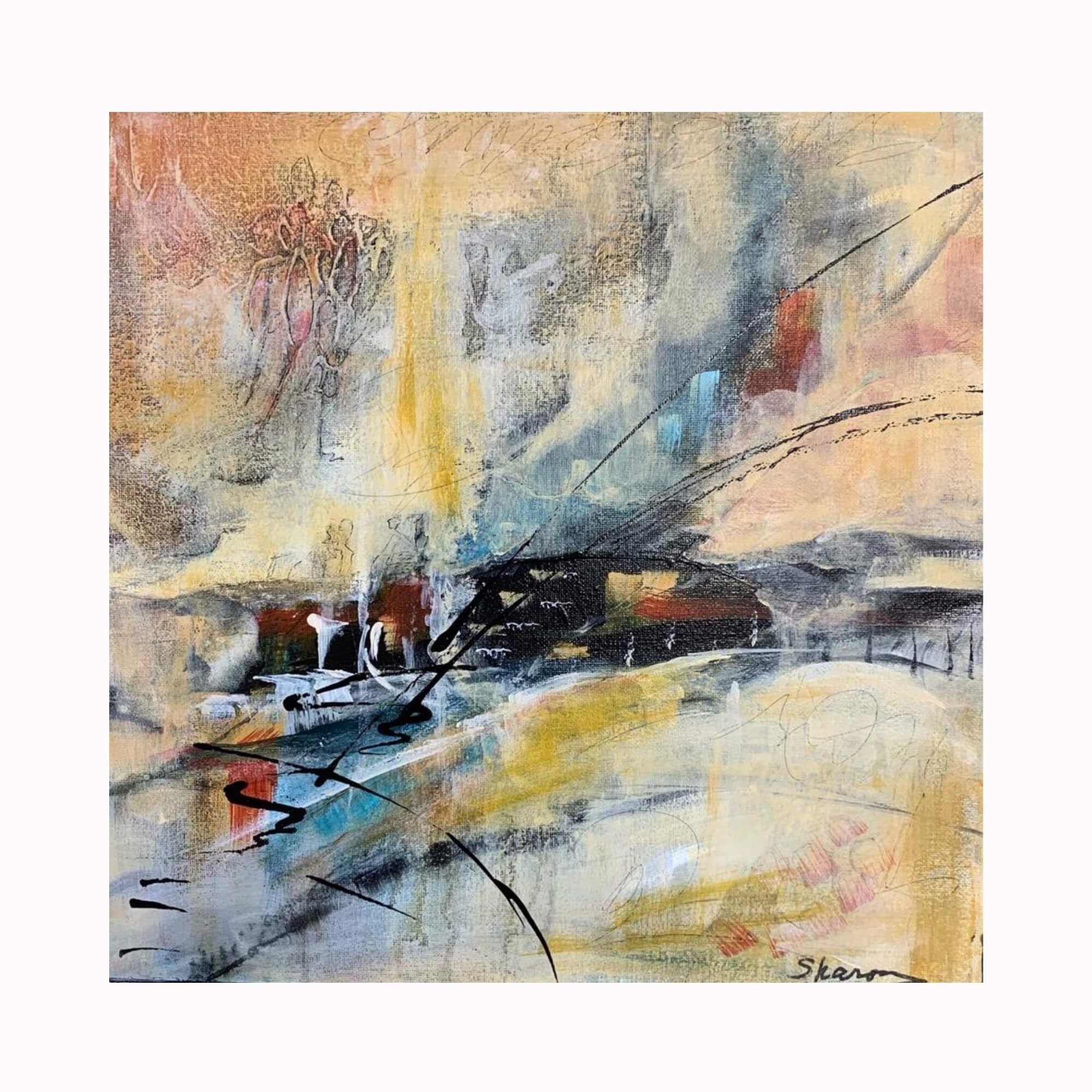 """Simple Secrets"" by Texas artist Sharon Whisnand 
