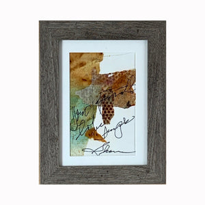 """Simple"" is a mixed media abstract painting by Texas artist Sharon Whisnand 