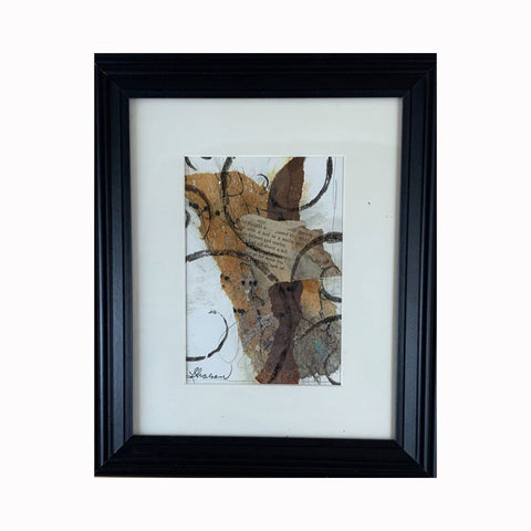"""Style and Manner"" is a mixed media abstract painting by Texas artist Sharon Whisnand 