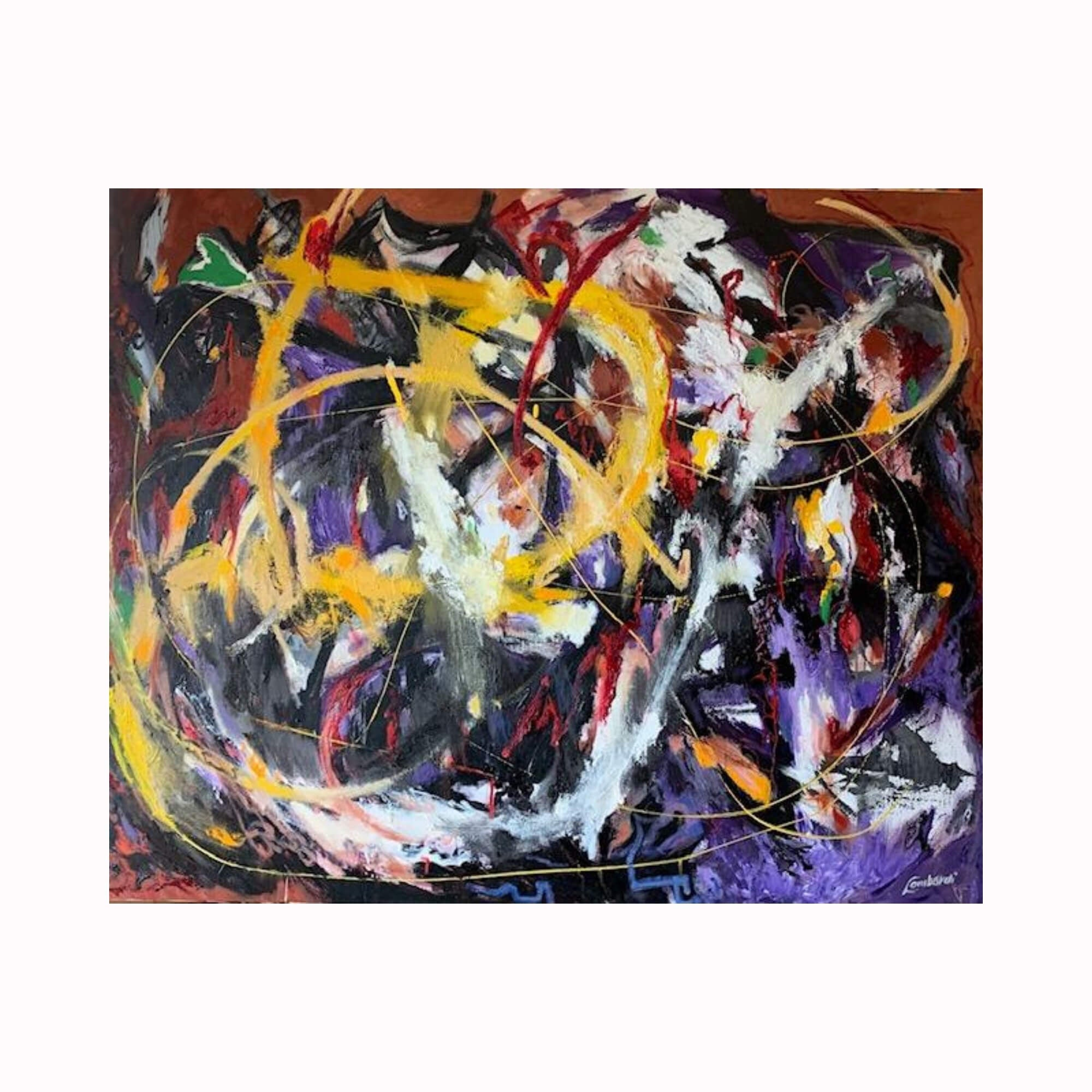 """Zip"" by Texas artist Bob Lombardi 